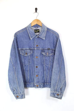 Men's Wrangler Denim Jacket - Blue L