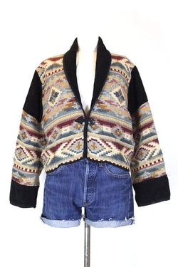 Loot Vintage Jacket L / Multi Women's Panelled Tapestry Jacket - Multi L