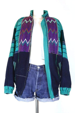 Loot Vintage Jacket L / Multi Women's Tapestry Jacket - Multi L