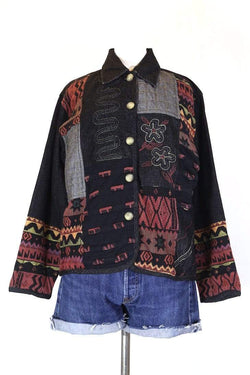 Loot Vintage Jacket M / Multi Women's Patterned Tapestry Jacket - Multi M