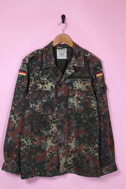 Loot Vintage Jacket Medium / Green Juniper Military Jacket