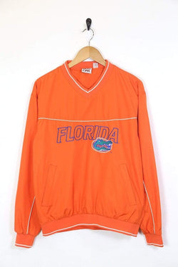Loot Vintage Jacket Men's Florida Gators Team Pullover Jacket - Orange S