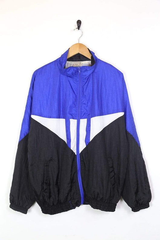 Loot Vintage Jacket Men's Panelled Windbreaker Jacket - Multi L