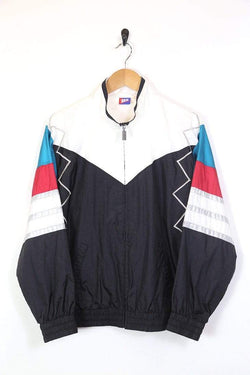 Loot Vintage Jacket Men's Panelled Windbreaker Jacket - Multi S