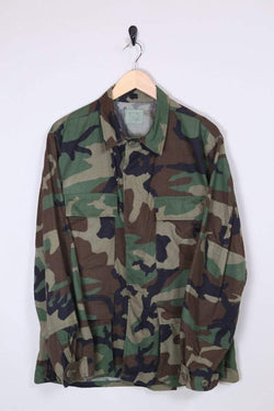 Men's Military Jacket - Green M