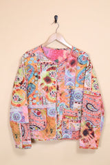 Loot Vintage Jacket Paisley Quilted Box Jacket