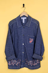 Loot Vintage Jacket Paisley Workwear Jacket