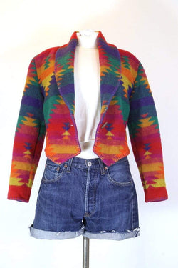 Loot Vintage Jacket S / Multi Women's Patterned Tapestry Jacket - Multi S