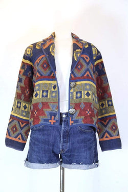 Loot Vintage Jacket S / Multi Women's Tapestry Jacket - Multi S