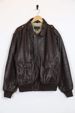 Loot Vintage Jacket Vintage 80's Leather Shearling Jacket