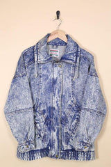 Loot Vintage Jacket Vintage Acid Wash Longline Jacket