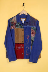 Loot Vintage Jacket Vintage Denim Tapestry Jacket