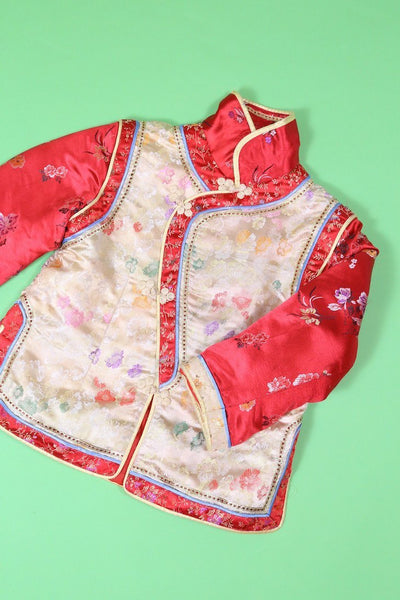 Loot Vintage Jacket Vintage Girls Cheongsam Jacket