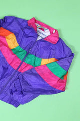 Loot Vintage Jacket Vintage Girls Rainbow Windbreaker