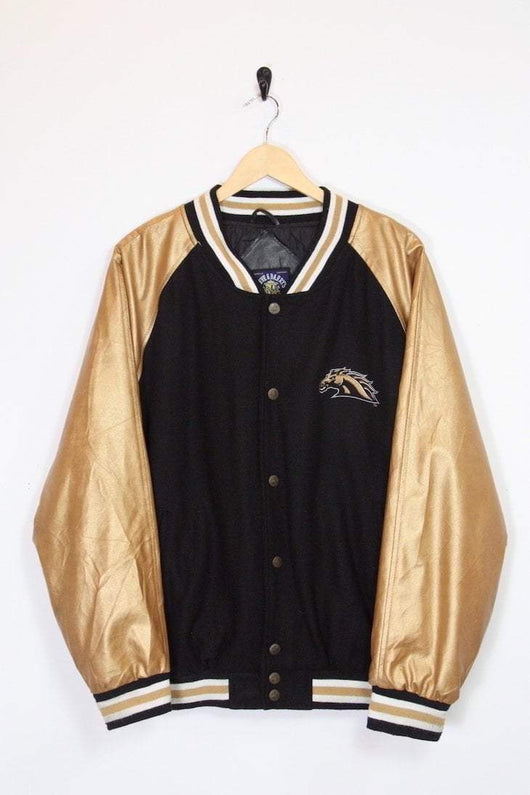 Loot Vintage Jacket Vintage Michigan Broncos Varsity Jacket