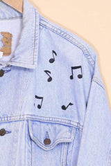 Loot Vintage Jacket Vintage Musical NYC Denim Jacket