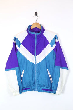 Loot Vintage Jacket Women's Colour Block Windbreaker Jacket - Multi M