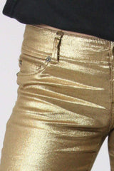Loot Vintage Jeans 12 / gold Gold Stretch Jean