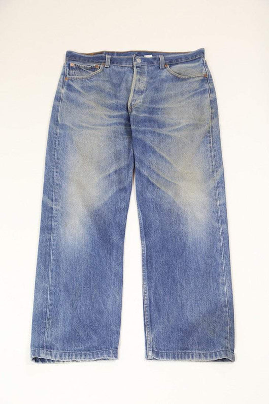 Men's Levi's 501 Fit Jeans - Blue L