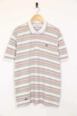 Loot Vintage Men's Adidas Polo Shirt - White L