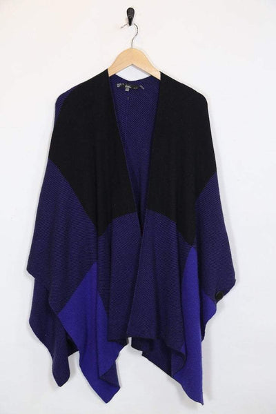 Loot Vintage Poncho Vintage Colour Block Cape