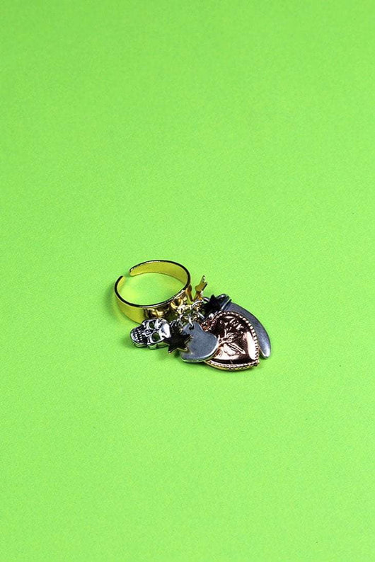 Loot Vintage Ring My Dear Charm Ring