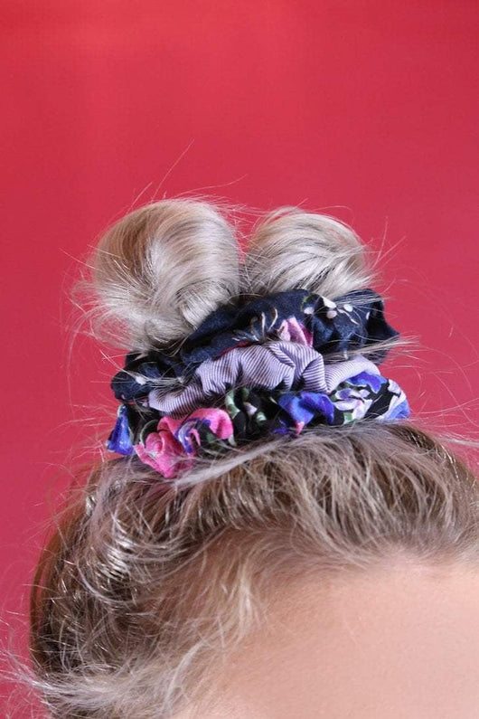 Loot Vintage Scrunchie Scrunchie Bundle
