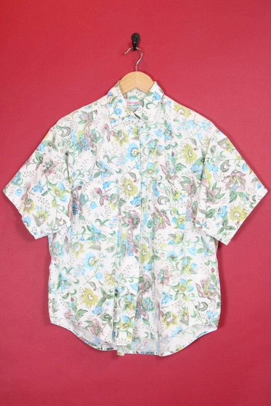 Loot Vintage Shirt Boxy Fit Floral Shirt