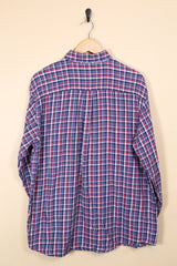 Loot Vintage Shirt Cotton Checked Shirt