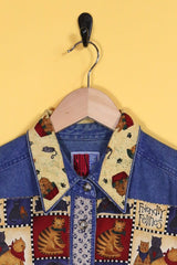 Loot Vintage Shirt Denim Kitty Shirt