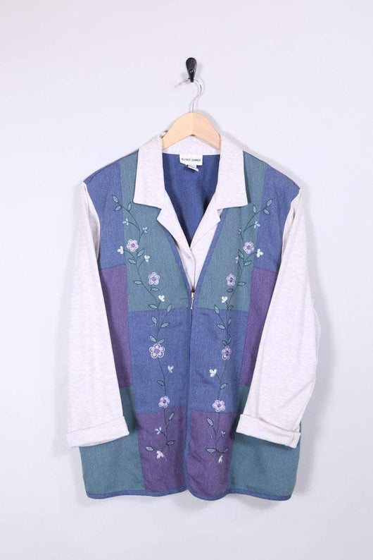 Loot Vintage Shirt Embroidered Jersey Shirt