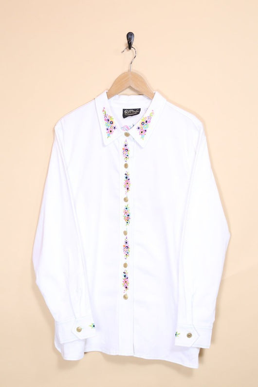 Loot Vintage Shirt Embroidered Shirt