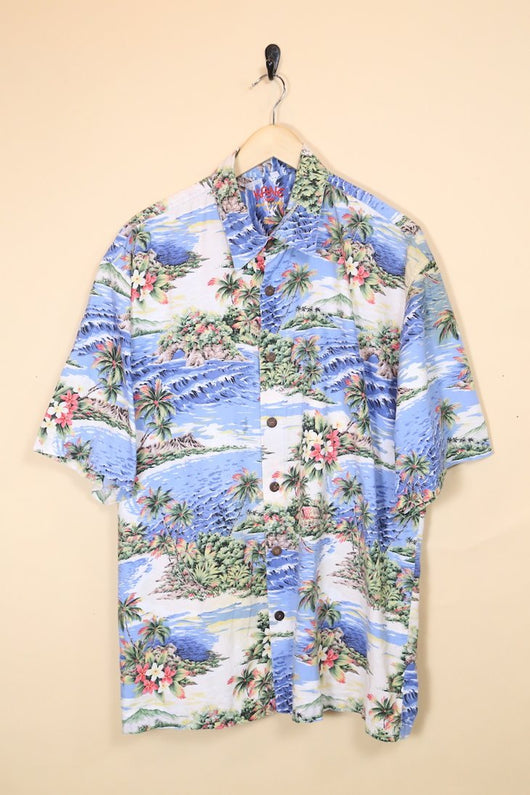 Loot Vintage Shirt Extra-Large / Blue Vintage Hawaiian Shirt