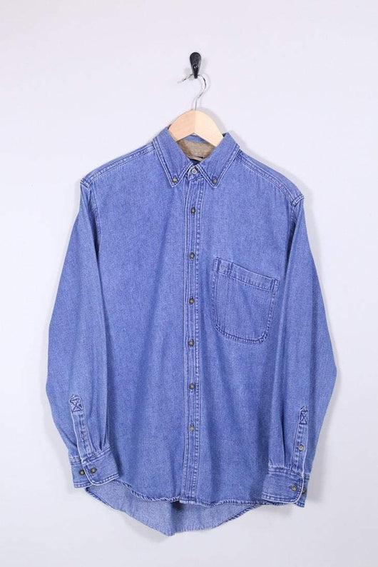 Loot Vintage Shirt Faded Glory Denim Shirt