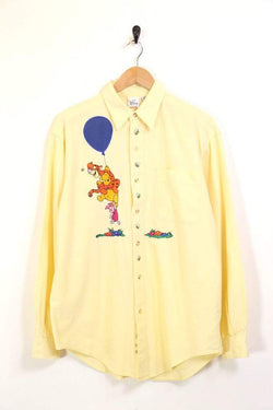 Men's Disney Character Shirt - Yellow L