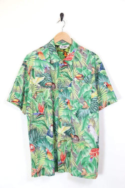 Loot Vintage Shirt L / Multi / Cotton Men's Hawaiian Printed Shirt - Multi L