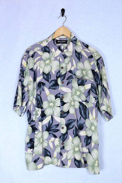 Loot Vintage Shirt Large / Multi Vintage Hawaiian Flower Shirt