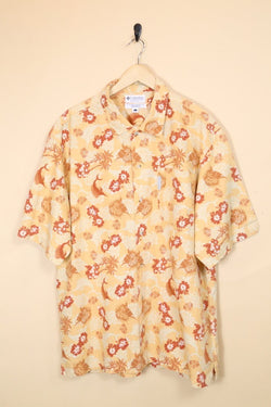 Loot Vintage Shirt Large / Orange Vintage Hawaiian Shirt