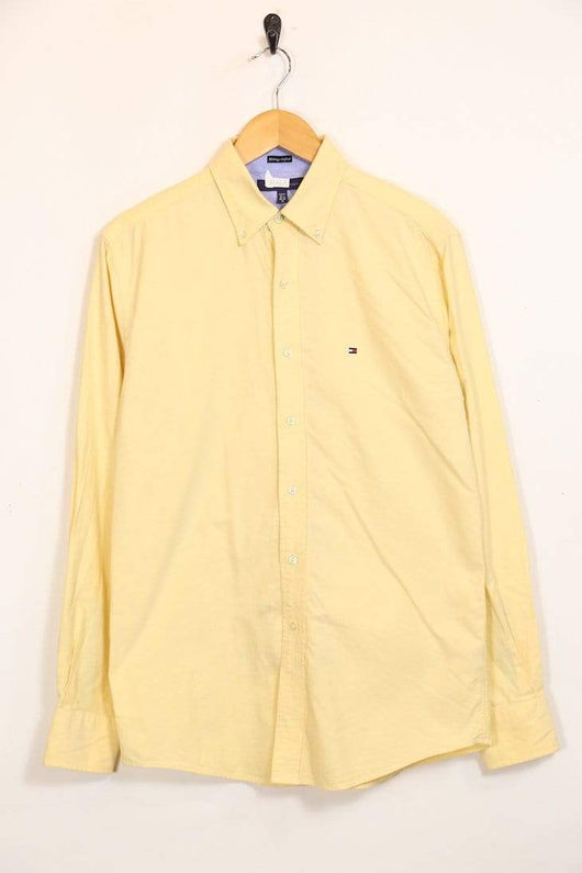 Loot Vintage Shirt M / Yellow / Cotton *Men's Tommy Hilfiger Shirt - Yellow M