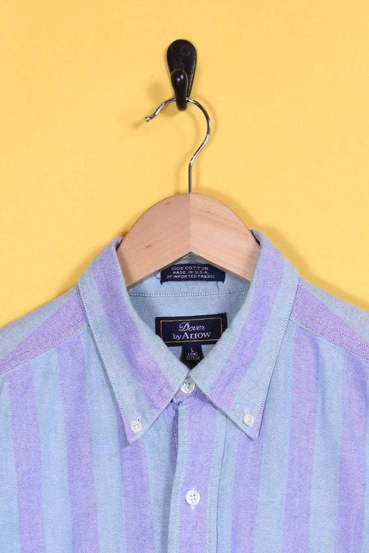 Loot Vintage Shirt Subtle Striped Shirt