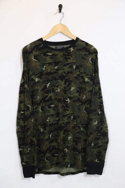 Men's Ralph Lauren Camo T-shirt - Green L