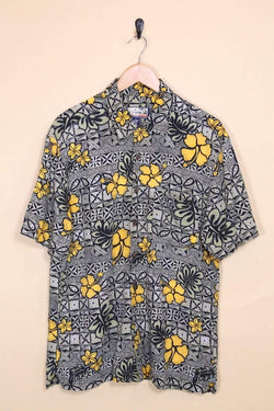 Loot Vintage Shirt Tropical Print Hawaiian shirt