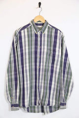 Loot Vintage Shirt Vintage 90s Striped Shirt