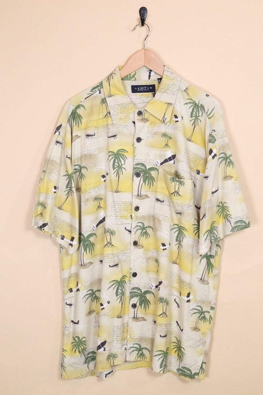 Loot Vintage Shirt Vintage Beach Days Hawaiian Shirt
