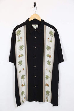 Loot Vintage Shirt Vintage Black Hawaiian Shirt