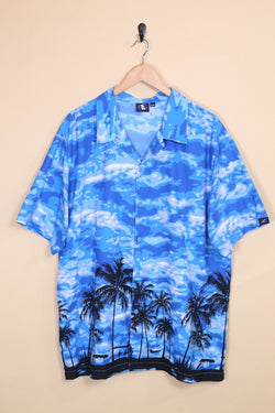 Loot Vintage Shirt Vintage Blue Breeze Hawaiian Shirt