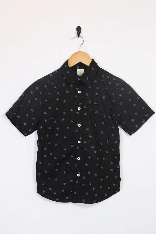 Loot Vintage Shirt Vintage Boys Patterned Shirt