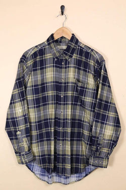 Loot Vintage Shirt Vintage Checked Cord Shirt