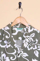 Loot Vintage Shirt Vintage Hawaiian Flower Shirt