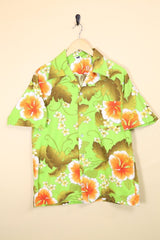 Loot Vintage Shirt Vintage Lime Green Hawaiian Shirt